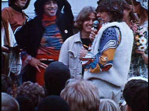 Vito performs a hippie wedding ceremony in the Haight (from The Hippie Revolution)
